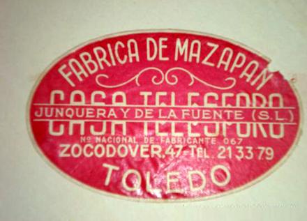 Etiqueta antigua